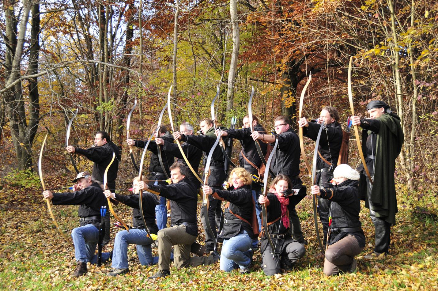 Anfängerkurs Europäische Kampfkunst – Bogen schießen