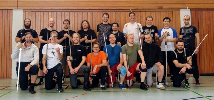 Trainingslager bei den Schwabenfedern in Ulm