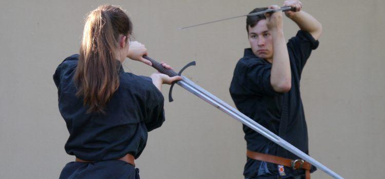 Jugendprüfungen im Schwertkampf
