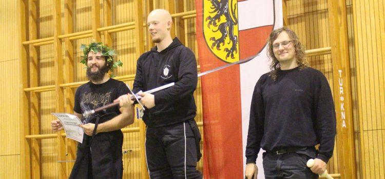 Bastian Tilgner gewinnt das SLMS Turnier im Langen Schwert
