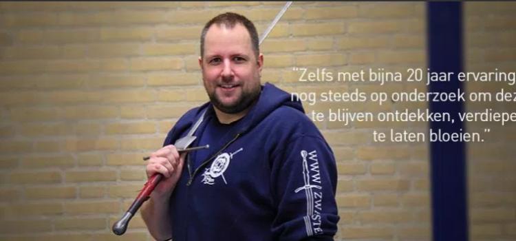 Schwertkampf Lehrgang mit Cor Kronenburg