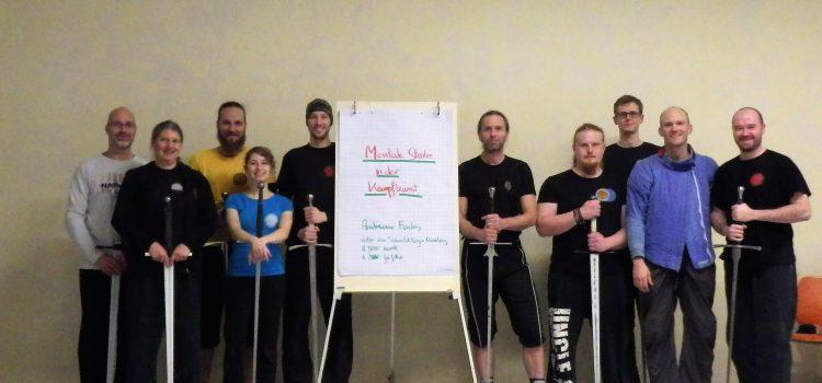 """Lehrgang """"Mentale Stärke in der Kampfkunst"""" für die Europäische Schwertkunst"""