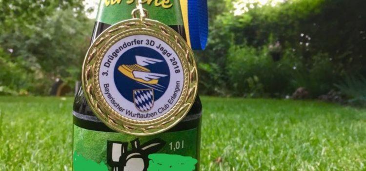 Erster Platz für Pam beim Drügendorfer 3-D-Turnier des BWC Erlangen