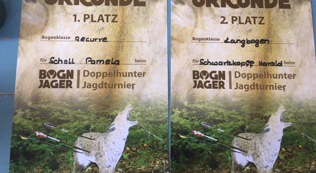 Super Erfolge beim 2. Bogn Jager Turnier in Hirschau