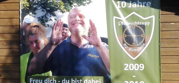 Bogenturnier bei Pfeilsuchtrupp in Böttigheim