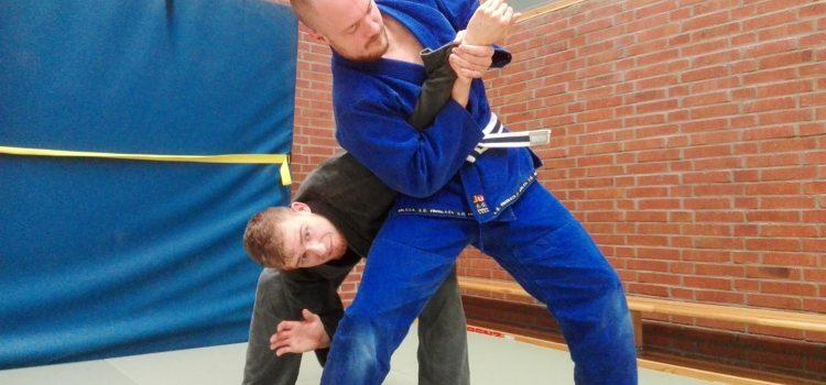 Schwert und Bogen goes Gracie Jiu Jitsu