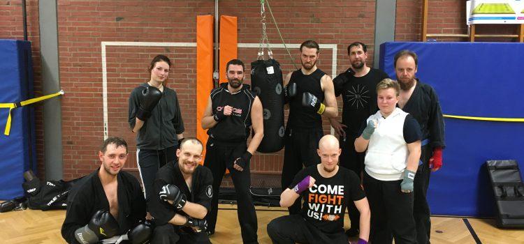 Kickbox Kurs gestartet