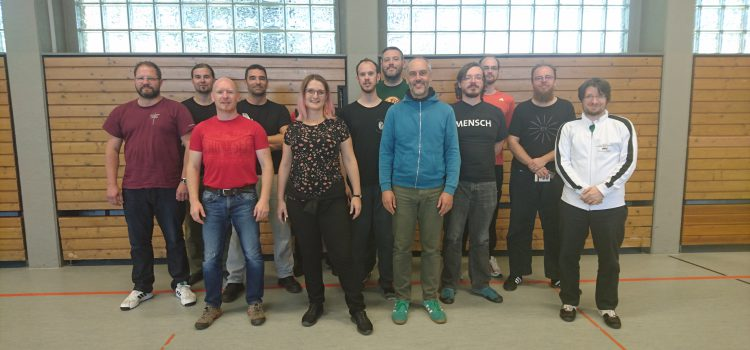 DDHF Kampfrichterausbildung in Nürnberg