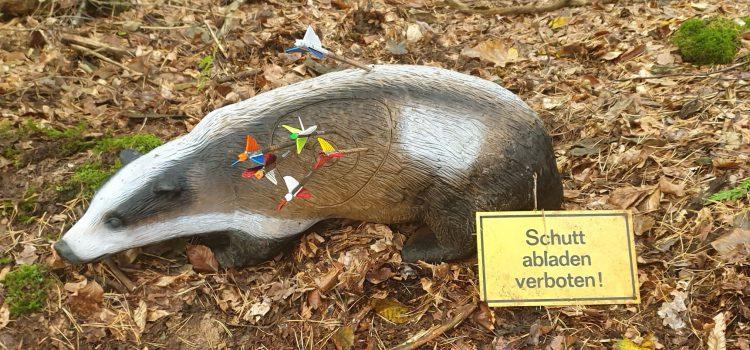 1. Platz für Pam beim 11. Jagdbogenturnier in Böttigheim