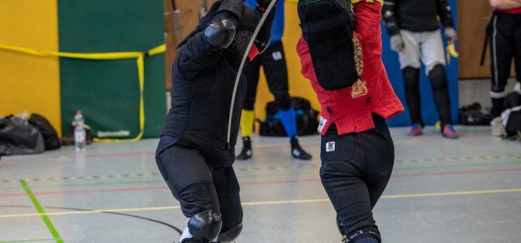 Schwertkampf-Spezialtraining für Frauen