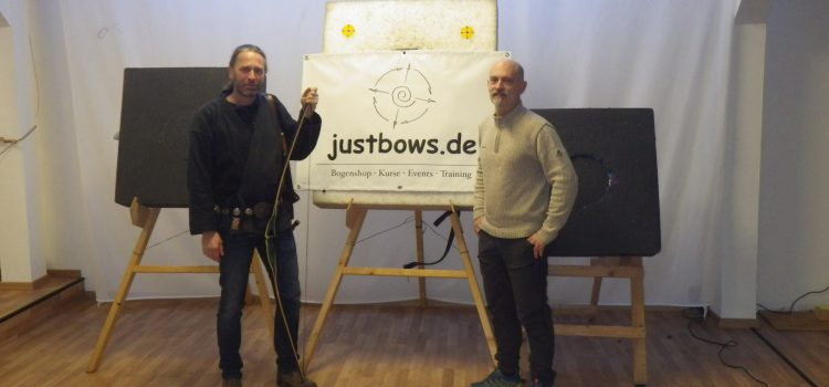 Ein neuer Bogen Gefährte für Andreas Fuchs